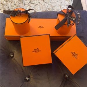 lot HERMES Twilly boxes shopping bag
